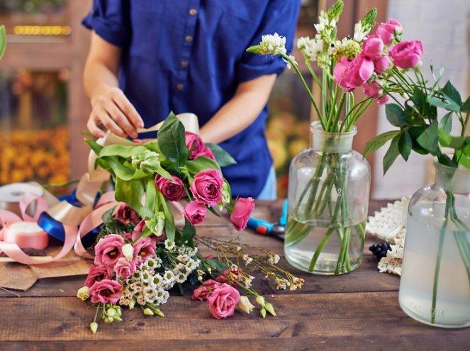 Подготовка срезанных цветов для длительного хранения
